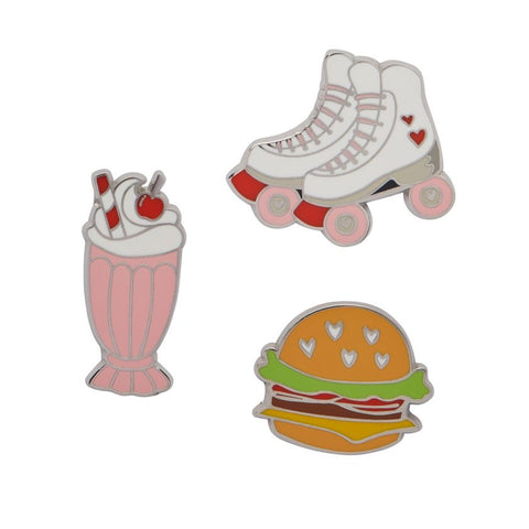 American Diner Set of Three