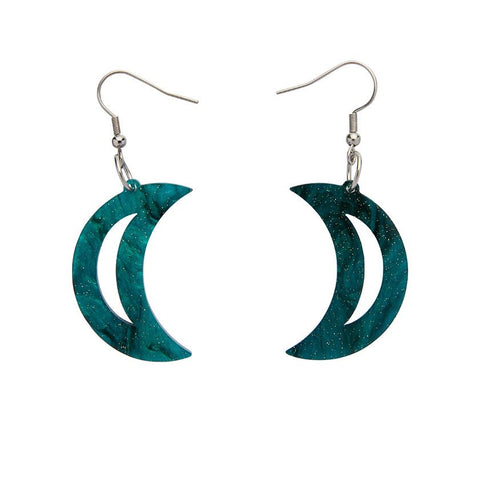 Essentials Drop Earrings Moon Ripple