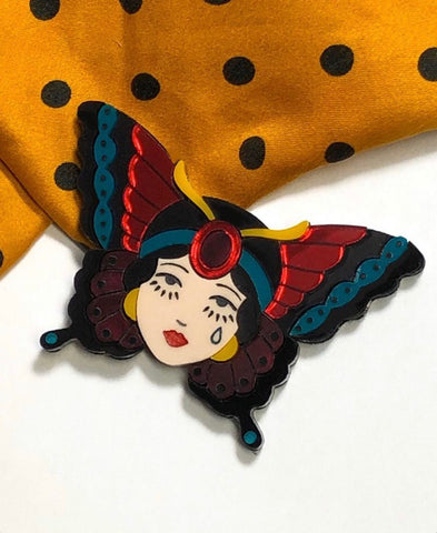 The Gypsy Butterfly Brooch Mini