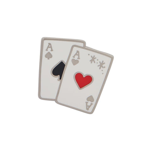 Card Trick Enamel Pin