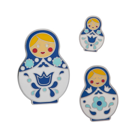 Matryoshka Memories Blue Set