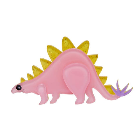 Scotty Stegosaurus Brooch