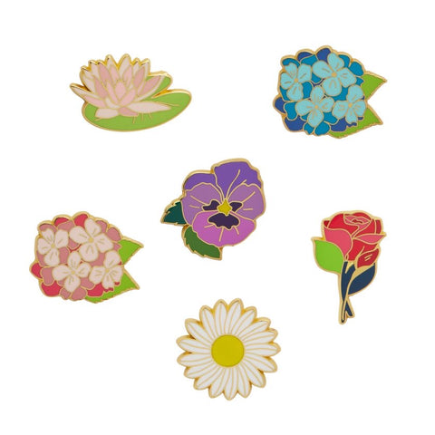 Floral Set of Six