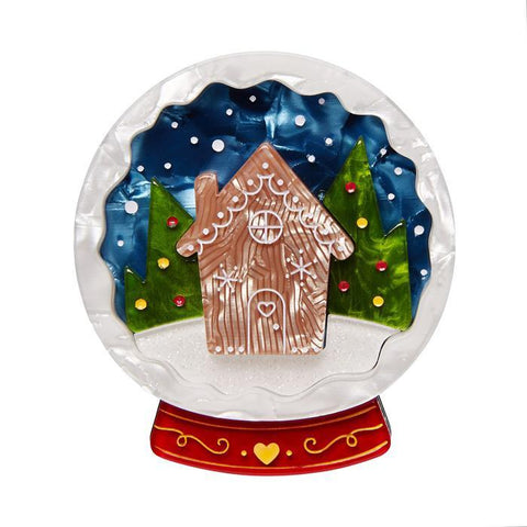 Seasons Greetings Brooch