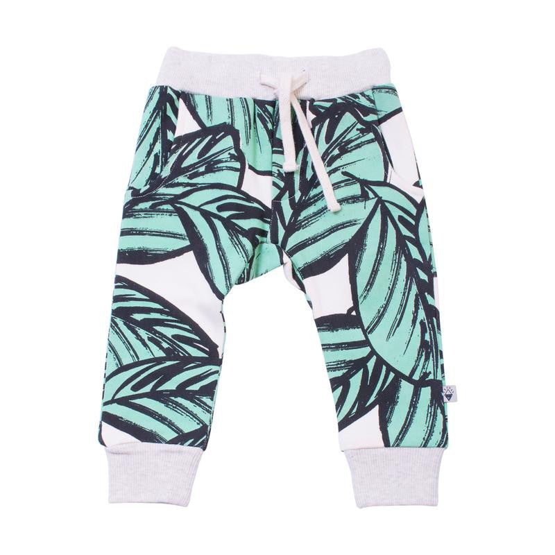 MILK & MASUKI Baby Jungle Fern Trackies