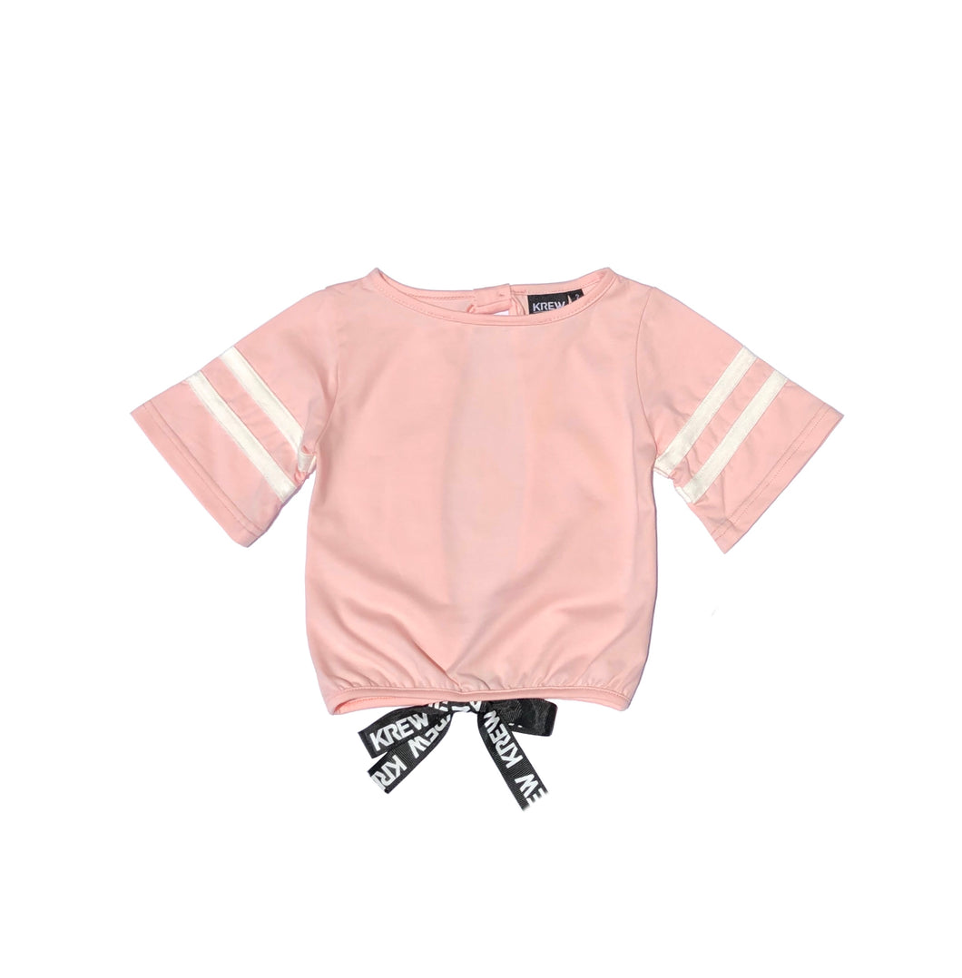 KREW KIDS Open Back Varsity Top
