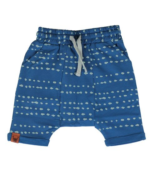 OOVY Indigo Splash Shorts