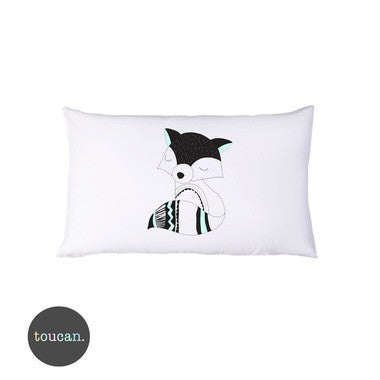 TOUCAN Racoon Pillowcase