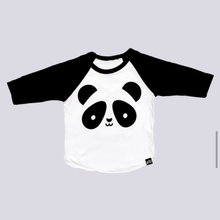 WHISTLE AND FLUTE Panda Baseball Shirt