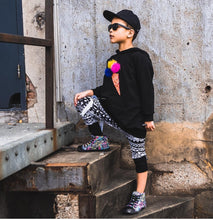 DEZZYS Neon Splatter High Top Sneakers