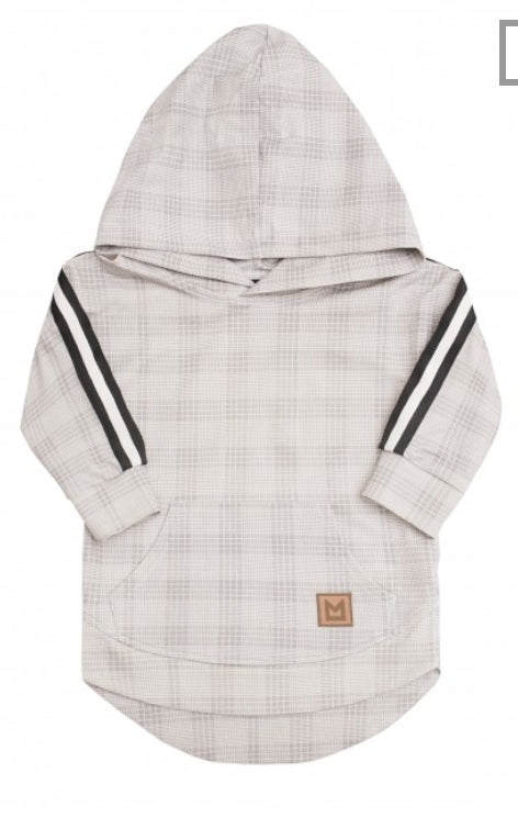 MINIKID Checkered & Ribbon Hoodie