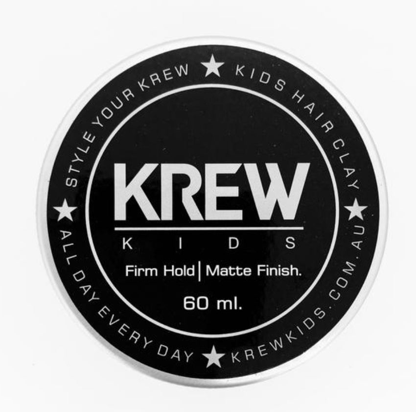 KREW KIDS All Natural Kids Hair Clay