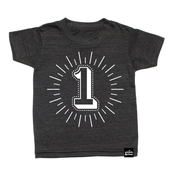 WHISTLE AND FLUTE Birthday Number Shirt Kids Got Style Boutique