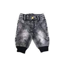 KROME KIDS Cooper Cropped Washed Black