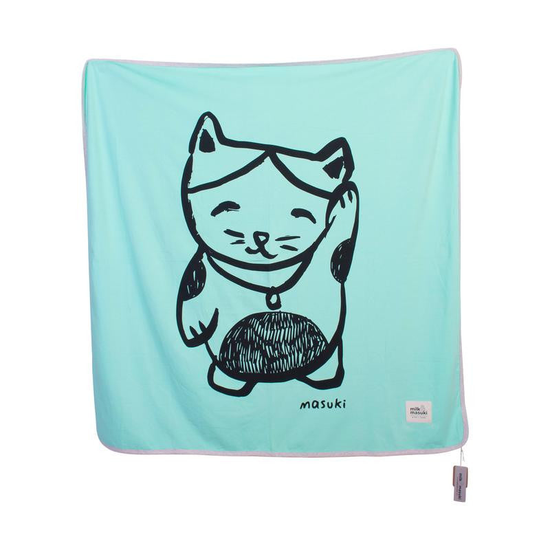 MILK & MASUKI Lucky Kitty Single Layer Wrap