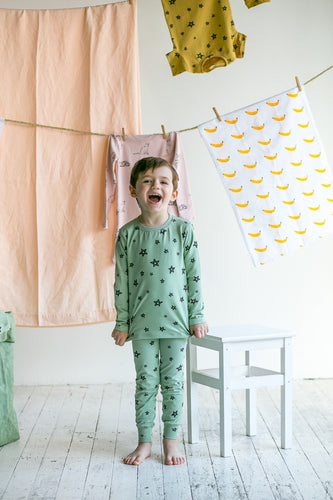 G.NANCY Pistachio Star Organic Pyjamas