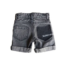 SUNNY & FINN Ace Shorts Acid Wash Black