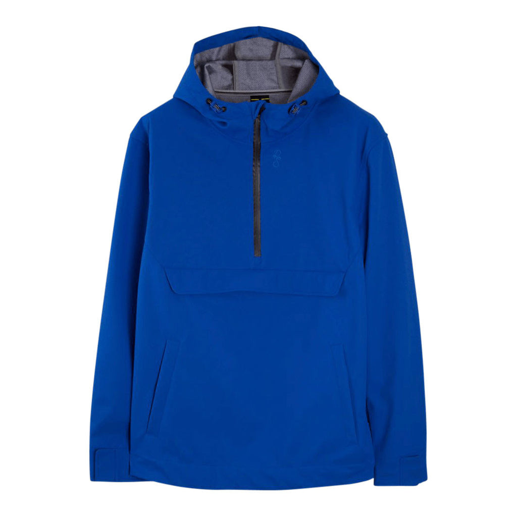 REVEAL Marina blue pop-over hooded jacket