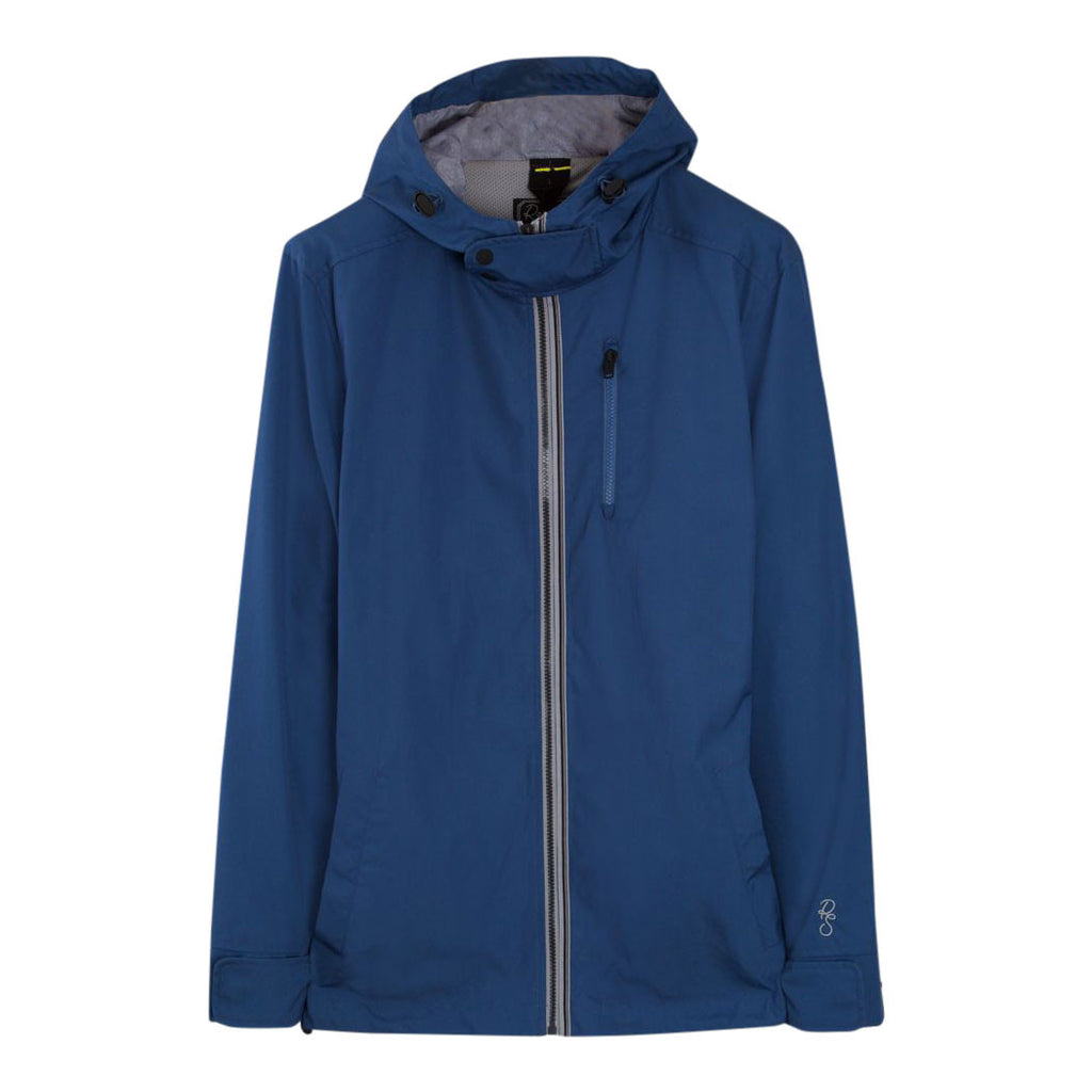WANDERLUST LITE Aston Teal lightweight hooded jacket