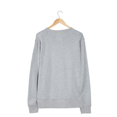 PERFORATE Lite Chambray interior grey sweatshirt back