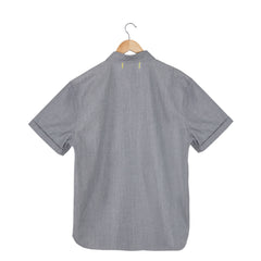LANDSDOWN Salt & Pepper short sleeve shirt back