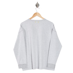 TURN Salt & Pepper Grey Womens Sweatshirt back
