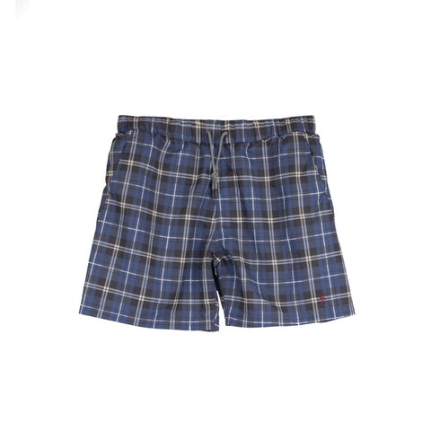 CHECK-IN Chambray Check swim shorts
