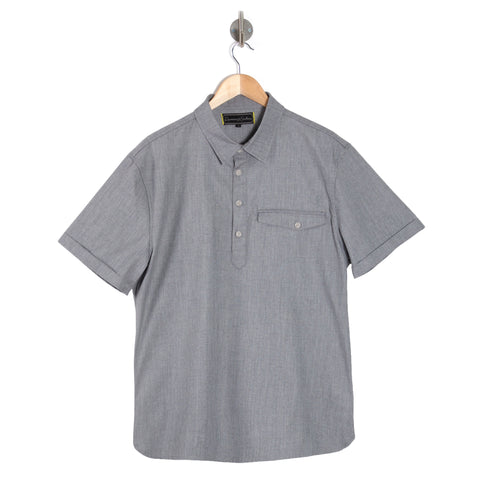 LANDSDOWN Salt & Pepper short sleeve shirt