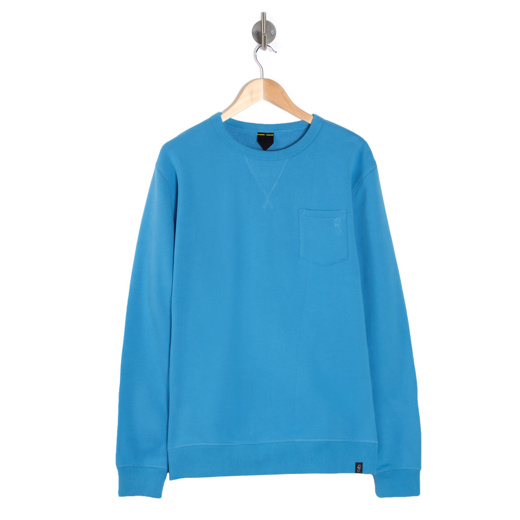WEST Lite Chambray blue sweatshirt