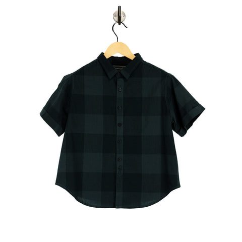 BLACKOUT Blackboard Womens Checked Shirt