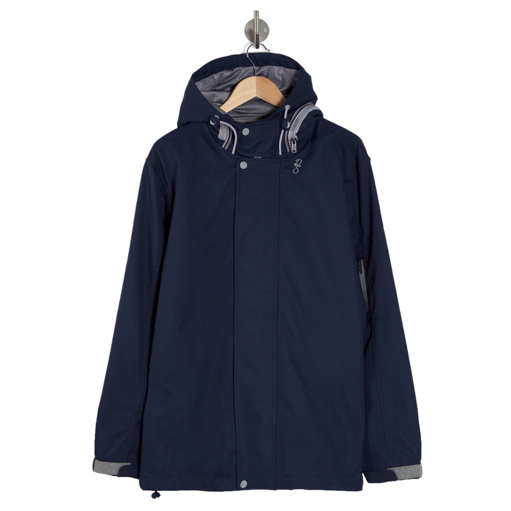 OUTDOORS Nocturnal Dark Blue Hooded Jacket
