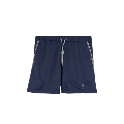 DROP OUT Nocturnal blue swim shorts