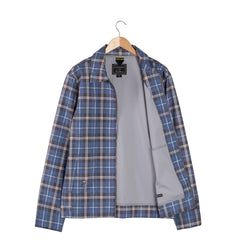 REISSUE Chambray Check Jacket open
