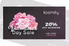 VALENTINE'S DAY SALE: 20% OFF ON ALL YOUR FAVORITE LUXURY SKIN CARE, HAIR CARE AND BEAUTY BRANDS FROM KOSMIFY