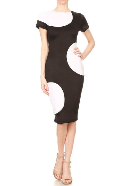 Serell Short Sleeve Body Con Dress