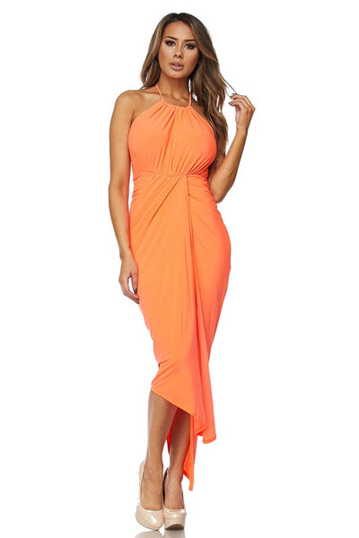 HALTER ITY LONG DRESS