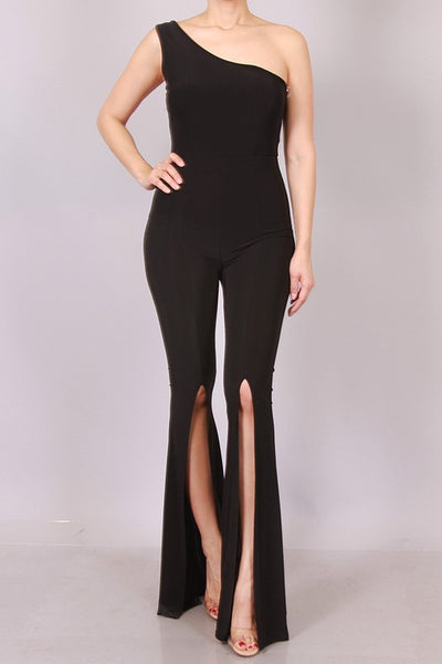 LASSIE ONE SHOULDER JUMPSUIT