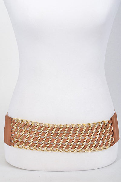 Chain Rope Braided Elastic Belt