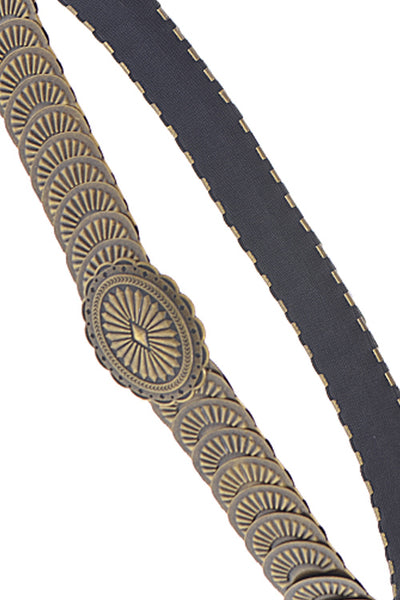 Oval Shaped Chain Belt