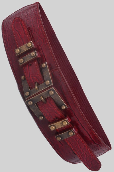 Alligator Plated Belt
