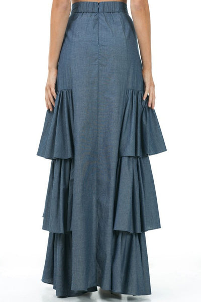 3 Layer Maxi Skirt