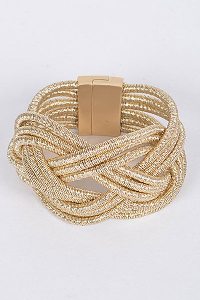 Braided Flashy Bracelet
