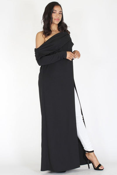 Gizza one shoulder maxi dress
