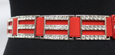 ELASTIC BELT WITH METAL BUCKLE