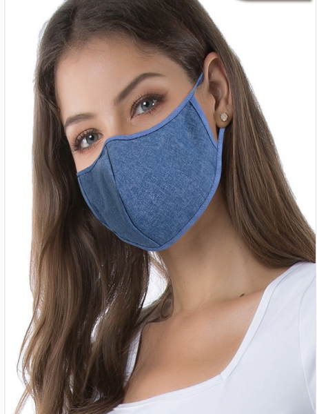 Chic Reusable Fashion Masks