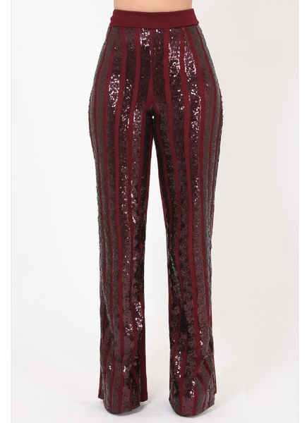 Chique Sequin Pants