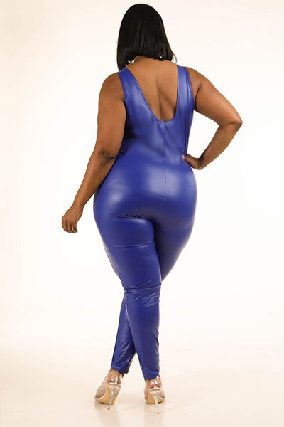 Corina Latex Jumpsuit