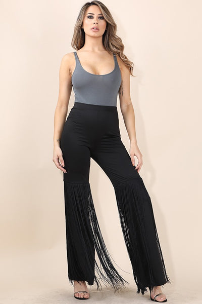 Debra Fringed pants