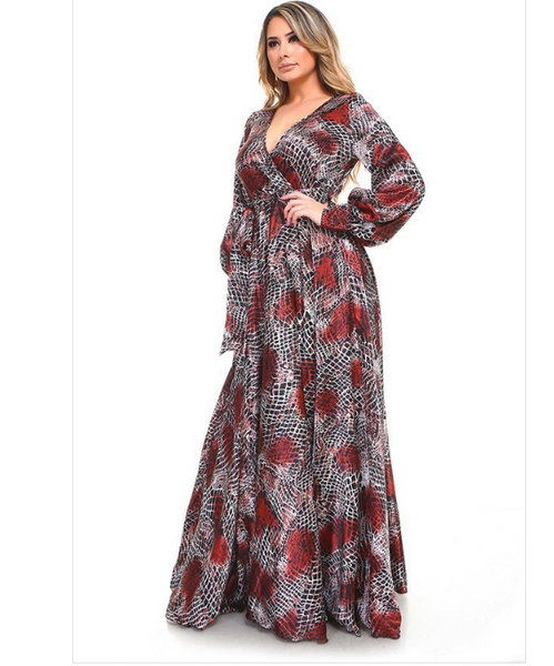 Wakanda Maxi Dress