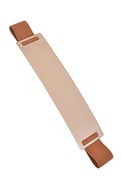Metal Plate Elastic Belt